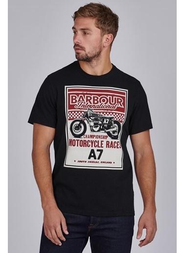 Barbour B.Int. Legendary A7 T-Shirt Bk31 Black Siyah